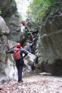 Canyoning in Umbria a Fossato di Vico